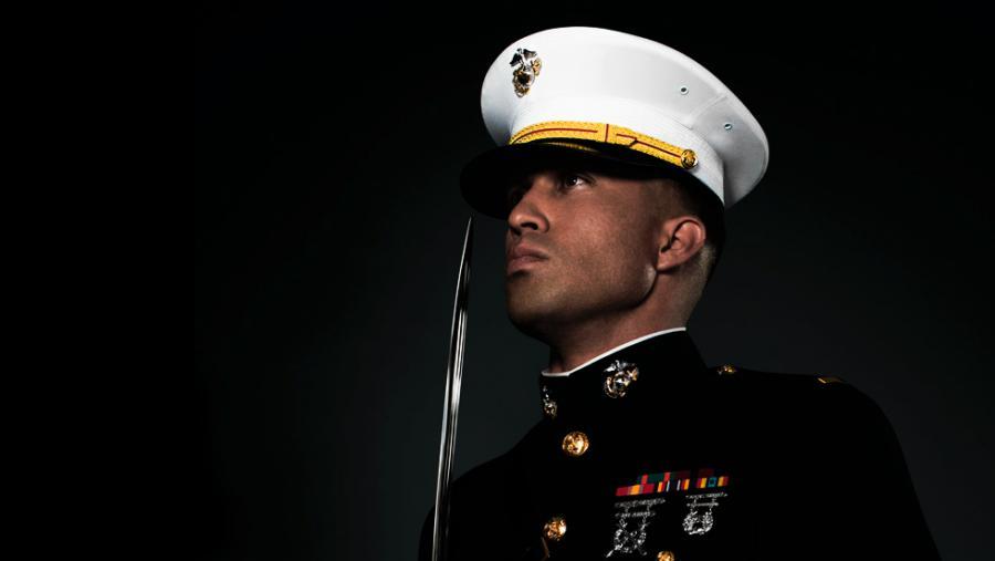 William Grey and the Marine | SilenceDogood2010's Blog