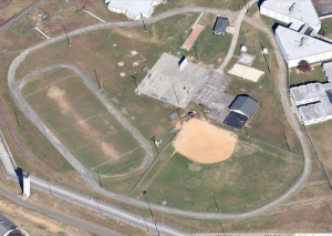 Zoomed in a little closer to show the Beach Volleyball, Basketball  & Horseshoe areas.