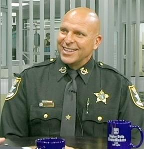 Sheriff Mike Scott