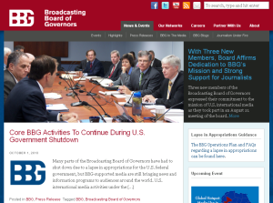 Notice they are not shutdown.  Screengrab of their homepage. Click to enlarge.