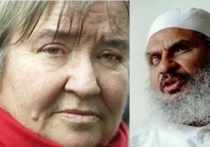 Lynne Stewart w/ her client the Blind Sheik.