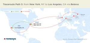 Example of hijacked data routes. Click for a larger image.