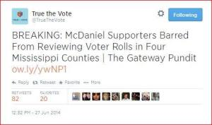 MississippiTrueTheVoteTweetJune272014