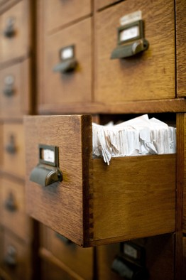 """Firearm records are kept in cabinets in the Durham County Courthouse. Carolyn Van Houten for The Wall Street Journal"""