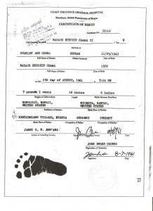 Could THIS be a real Birth Certificate for BHO???
