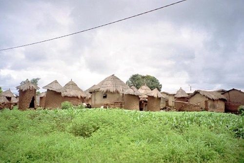 An African Tribal Village