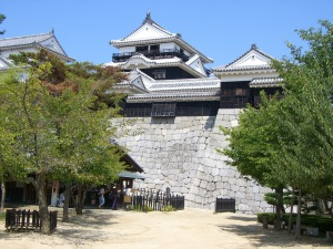 Matsuyama Castle in Japan. This one was built between 1820 - 1854