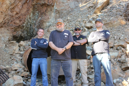 Rick Barclay (Owner of the Sugar Pine Gold Mine) & some of the III Percenters that have joined him to protect his property from the BLM.