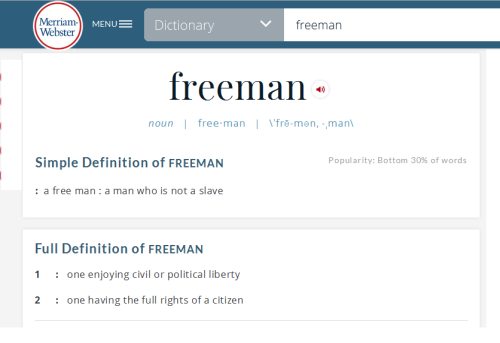FreemanDefinition